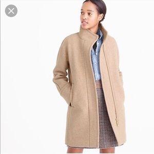 J. Crew Stadium Cloth Cocoon Coat